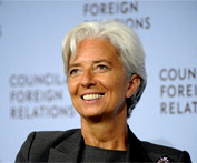 Christine Lagarde - Man. Director IMF