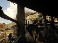 Gaza buildings destroyed. Photo from CNN WebSite.