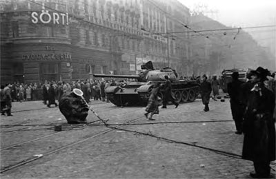 1956 soviet invasion of Hungary